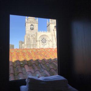 ポルト大聖堂目の前のホテル、「Cathedral Design Apartments」