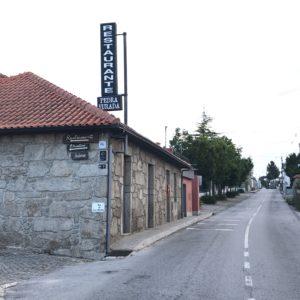 カミーノ「ポルトガル人の道」のレストラン、ペドロフラーダ