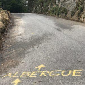 カミーノ「ポルトガル人の道」Barrosのアルベルゲへ