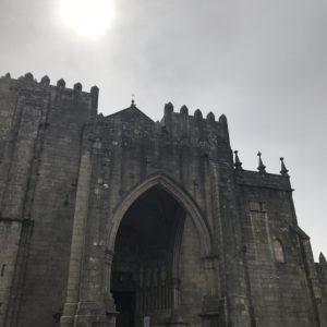 カミーノ「ポルトガル人の道」スペインTuiの大聖堂
