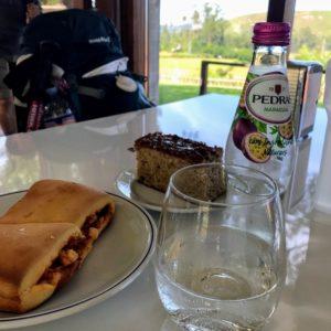 カミーノ「ポルトガル人の道」Rubiaesのアルベルゲとカフェ