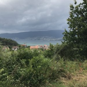 カミーノ「ポルトガル人の道」、Ria de Vigo ヴィーゴの入江をのぞむ
