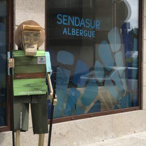 カミーノ「ポルトガル人の道」PorrinoのアルベルゲSENDASUR
