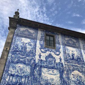 カミーノ「ポルトガル人の道」ポルト散策 Capera das Almas de Santa Catarina