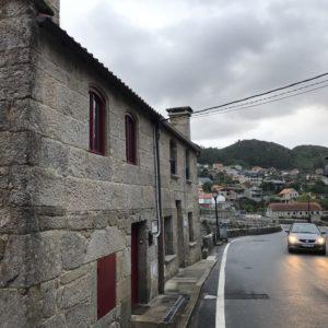 カミーノ「ポルトガル人の道」Arcadeアルカデのアルベルゲ「A Xesteira」Arcaeアルカデの街