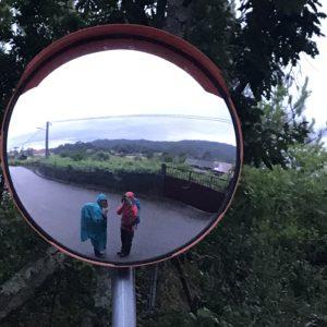 カミーノ「ポルトガル人の道」雨装備