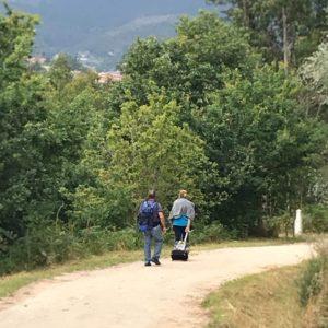 カミーノ「ポルトガル人の道」、巡礼者のすがた