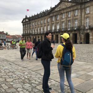 スペイン巡礼 カミーノ フィステーラへのバスツアー