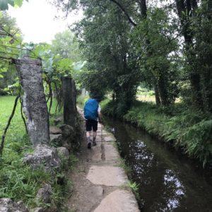 カミーノ「ポルトガル人の道」Orbenlleの分かれ道
