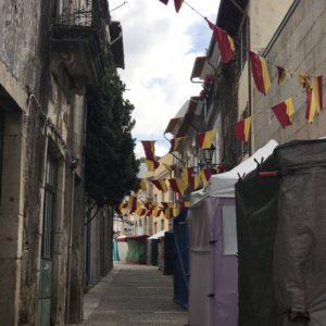 ポルトガル バルセロスの街並み