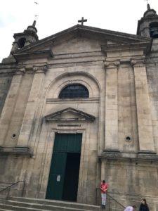 カミーノ「ポルトガル人の道」Padronパドロンのサンティアゴ教会