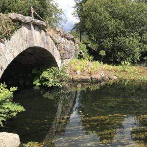 カミーノ「ポルトガル人の道」バルガンイス近くの石橋