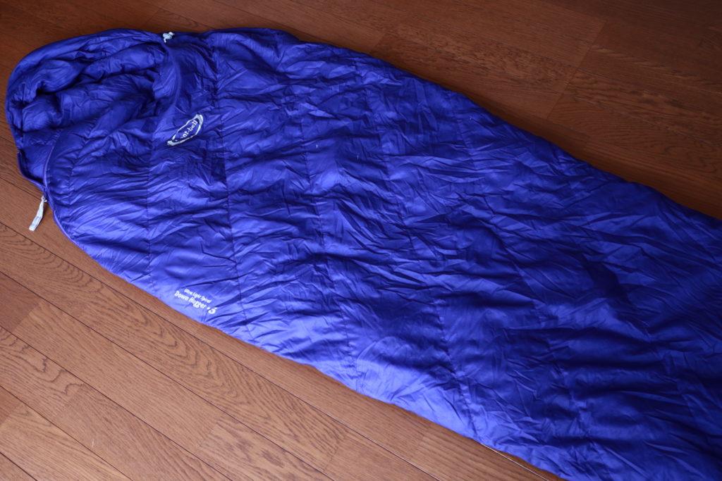 カミーノの寝袋は、モンベルのダウン#5
