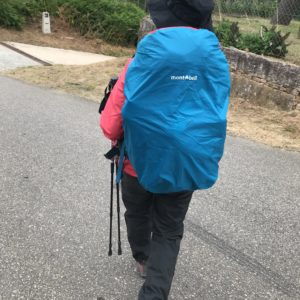 カミーノ「ポルトガル人の道」ガリシア地方での雨対策