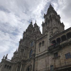 カミーノ「ポルトガル人の道」サンティアゴの大聖堂