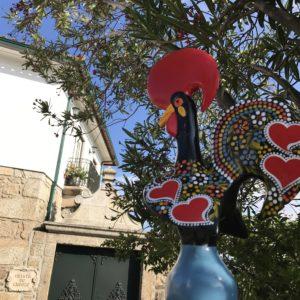 カミーノ「ポルトガル人の道」バルセロスの雄鶏オブジェ