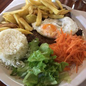 カミーノ「ポルトガル人の道」ポルテーラのレストラン2000のメヌー