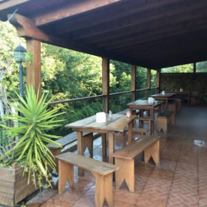 カミーノ「ポルトガル人の道」ポンテ・デ・リマ近郊のカフェPescaria