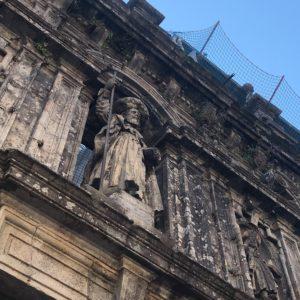カミーノ「ポルトガル人の道」パドロンからサンティアゴへ、サンティアゴの大聖堂