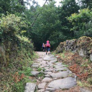 カミーノ「ポルトガル人の道」の巡礼者