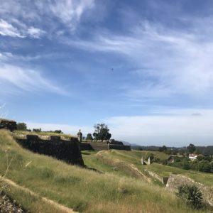 カミーノ「ポルトガル人の道」ヴァレンサの要塞