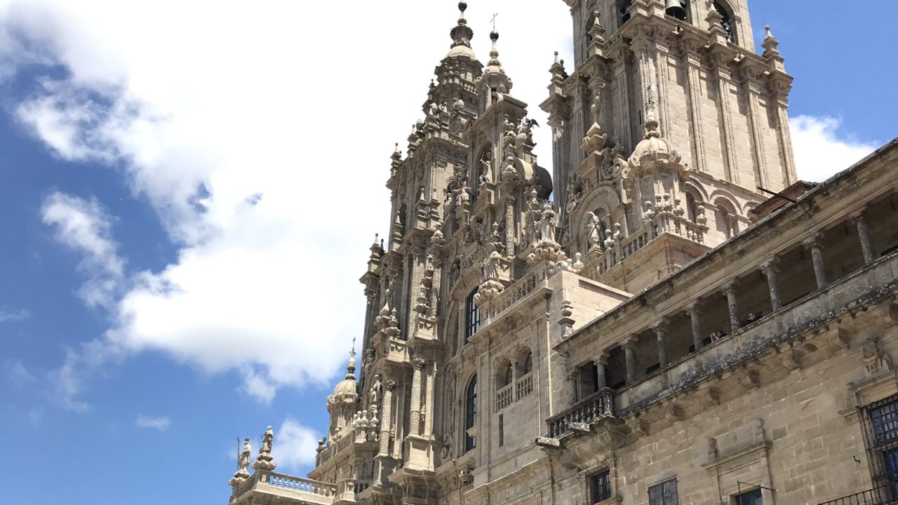 カミーノ「ポルトガル人の道」サンティアゴ大聖堂