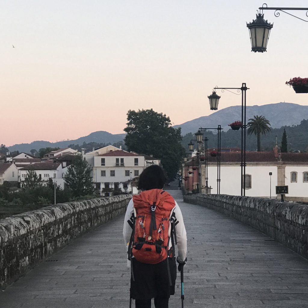 カミーノ「ポルトガル人の道」のお洗濯事情