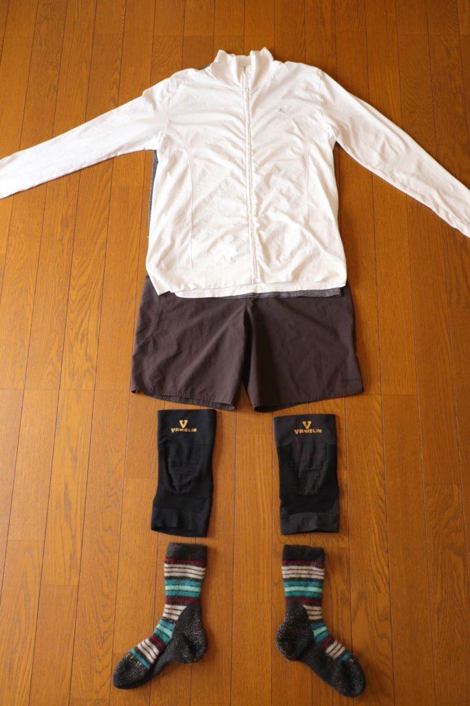 カミーノ「ポルトガル人の道」歩行時の服装