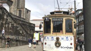 カミーノ「ポルトガル人の道」ポルト散策 トラム