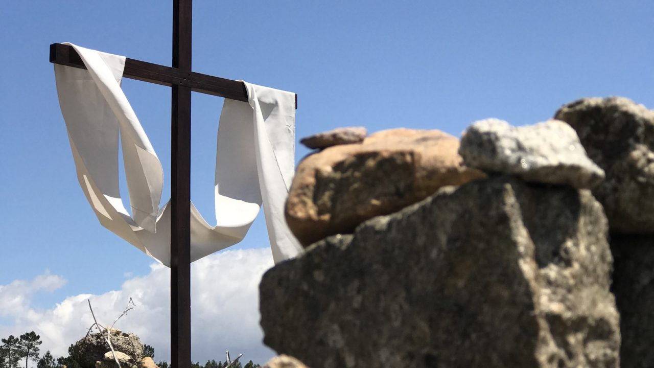 カミーノ「ポルトガル人の道」鉄の十字架